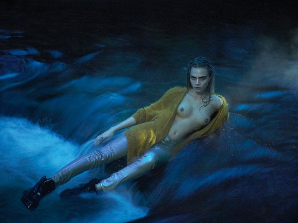 Les nouvelles photos de Cara Delevingne nue