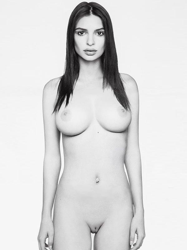 Une photo d'Emily Ratajkowski entièrement nue