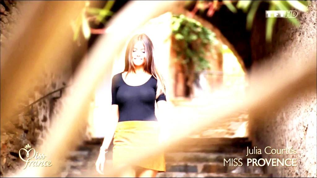 Oops les seins de Julia Courtès (Miss Provence)