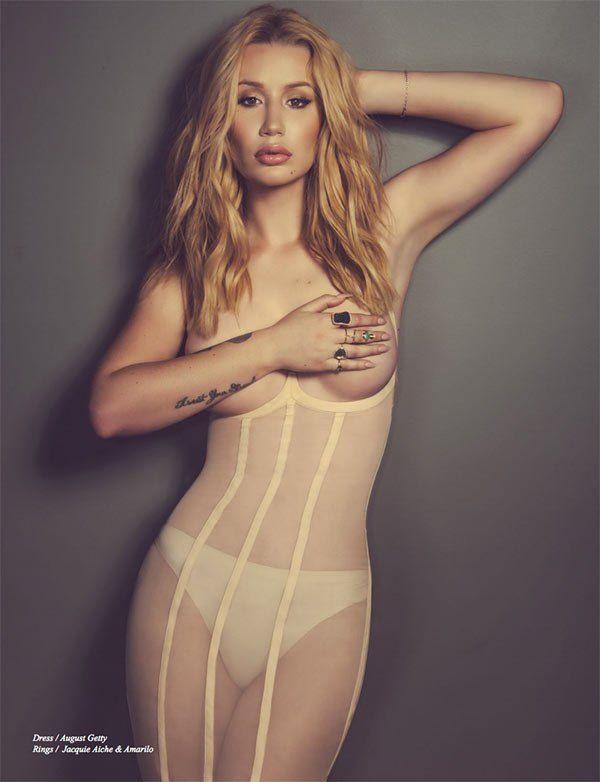 Des photos de Iggy Azalea nue et seins nus