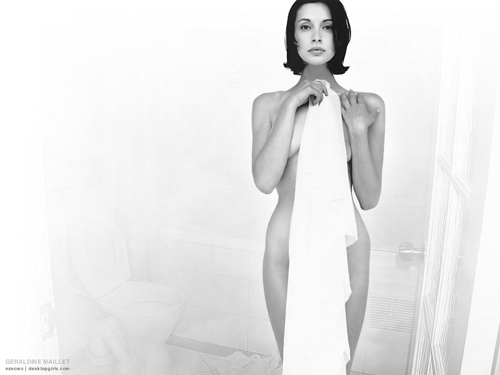 Toutes les photos de Géraldine Maillet nue et seins nus