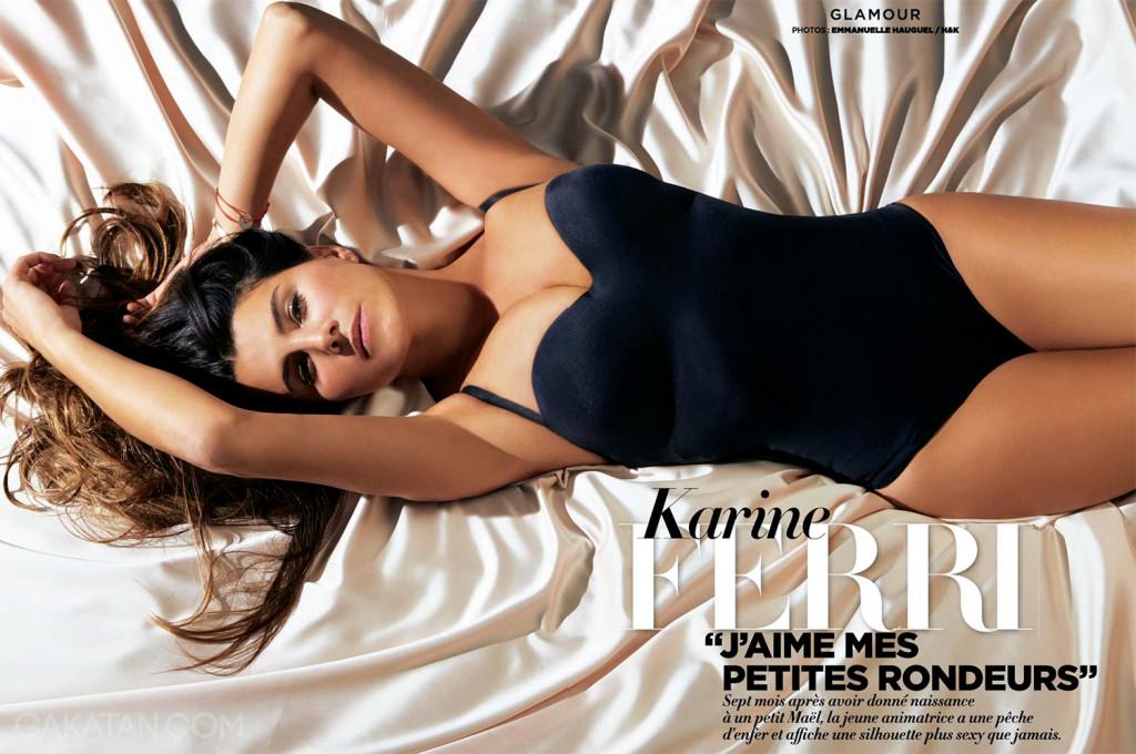 Des photos de Karine Ferri super sexy dans Gala