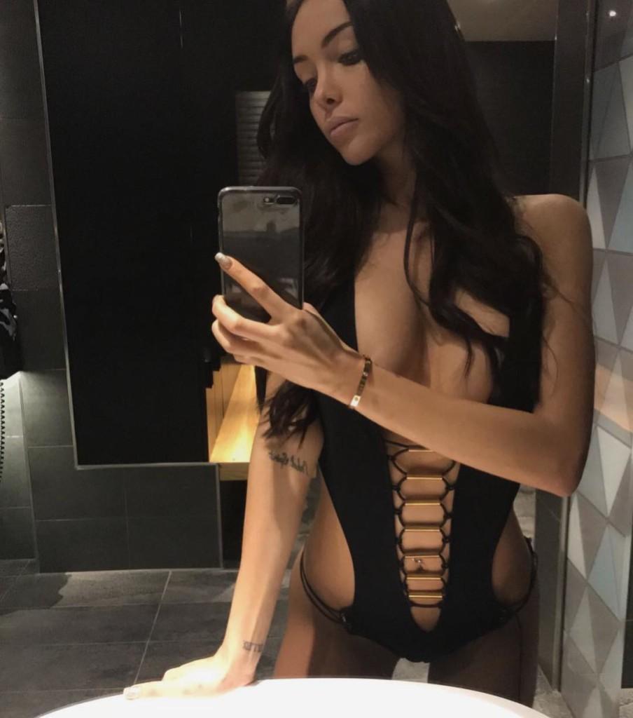 Nabilla super sexy en lingerie sur instagram