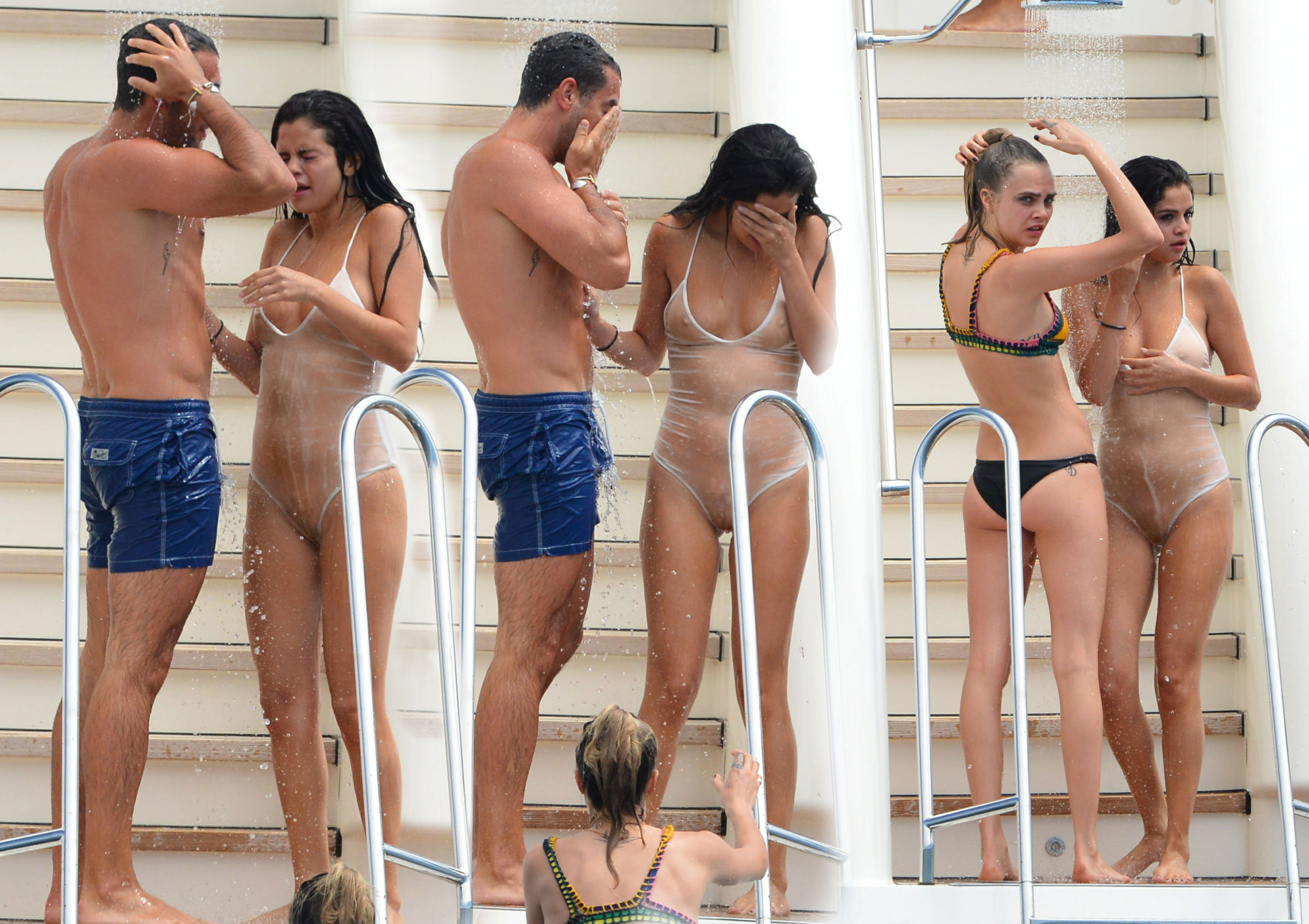 selena gomez group naked