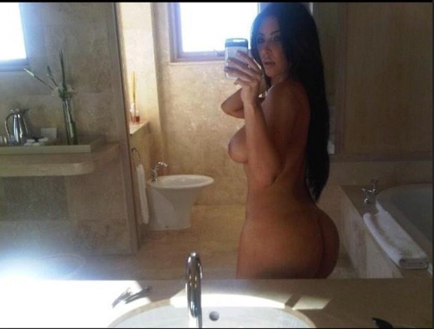 Les photos volées de Kim Kardashian nue et topless