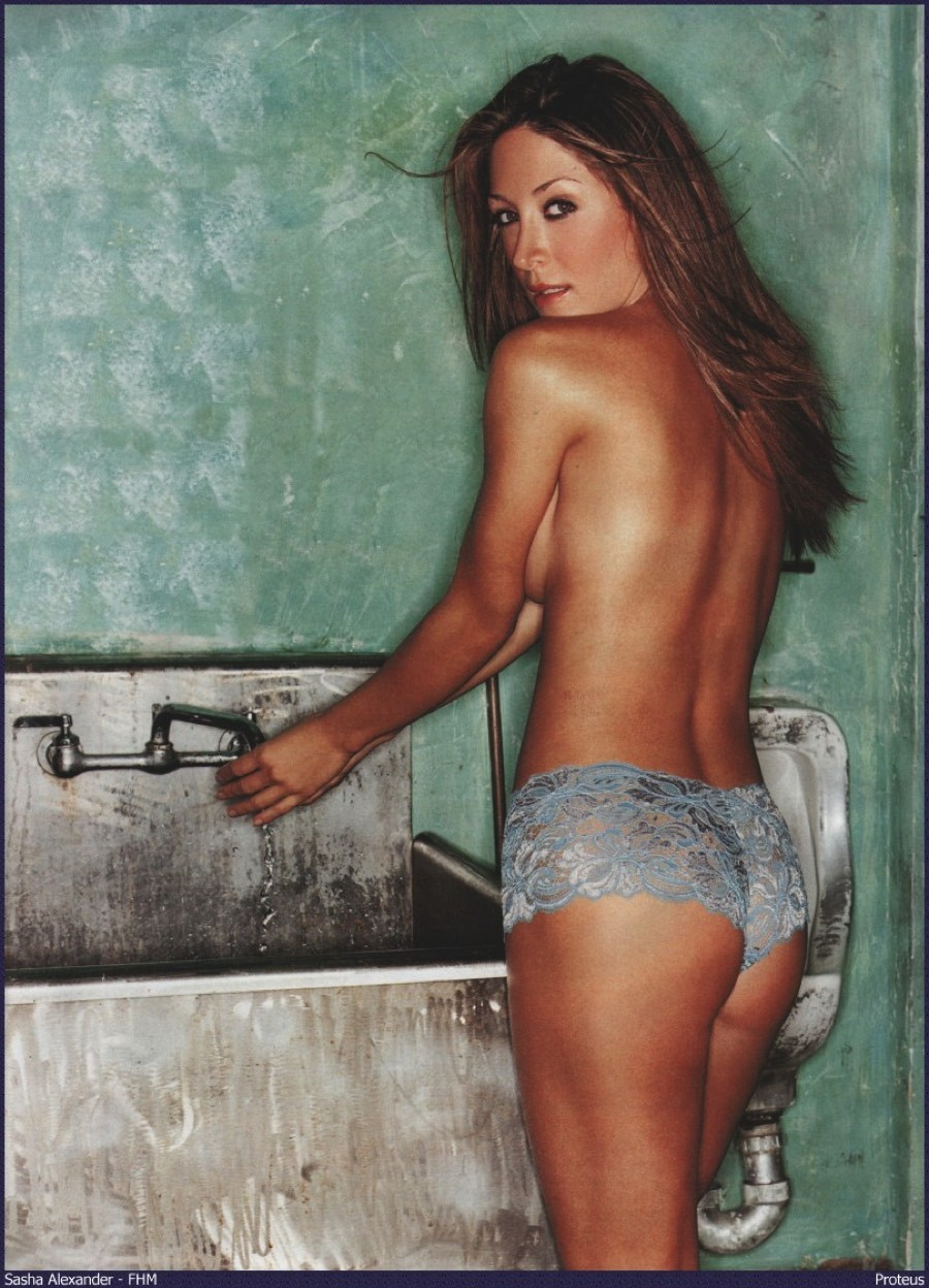 Sasha alexander hot photo