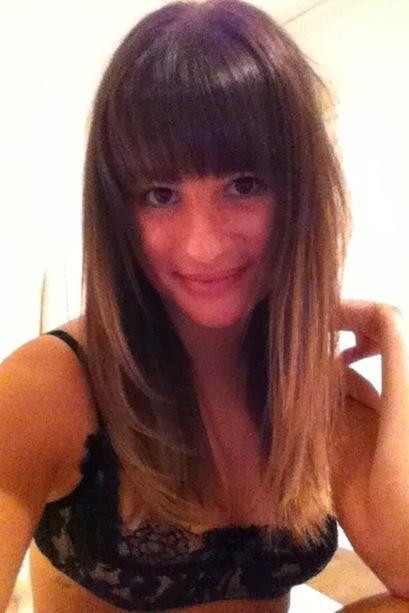 Les photos volées de Lea Michele nue