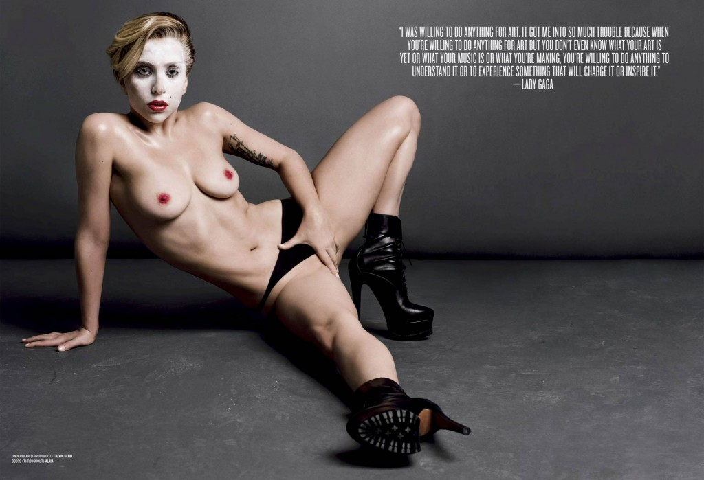 Des photos de Lady Gaga nue