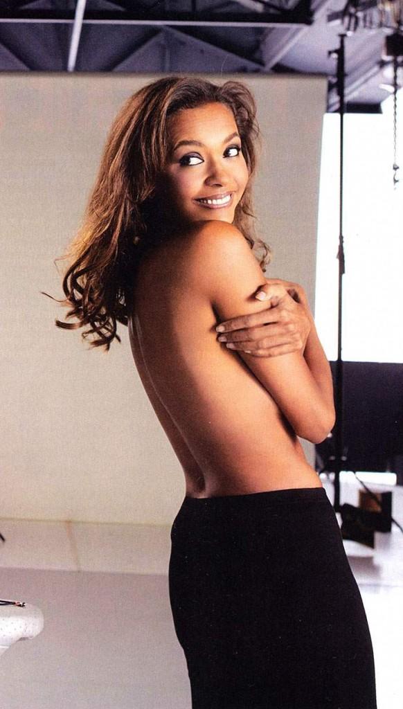 Les photos de Karine Le Marchand nue sexy et hot