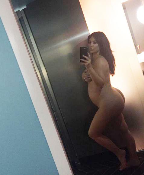 Kim Kardashian : sa photo de nu intgral fait craquer internet