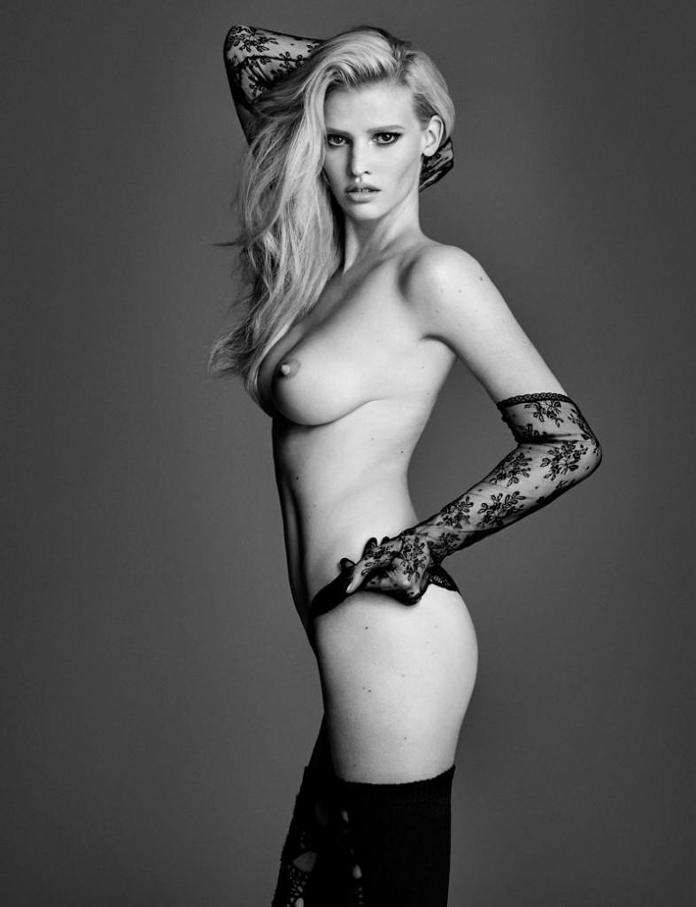 Des photos de Lara Stone nue