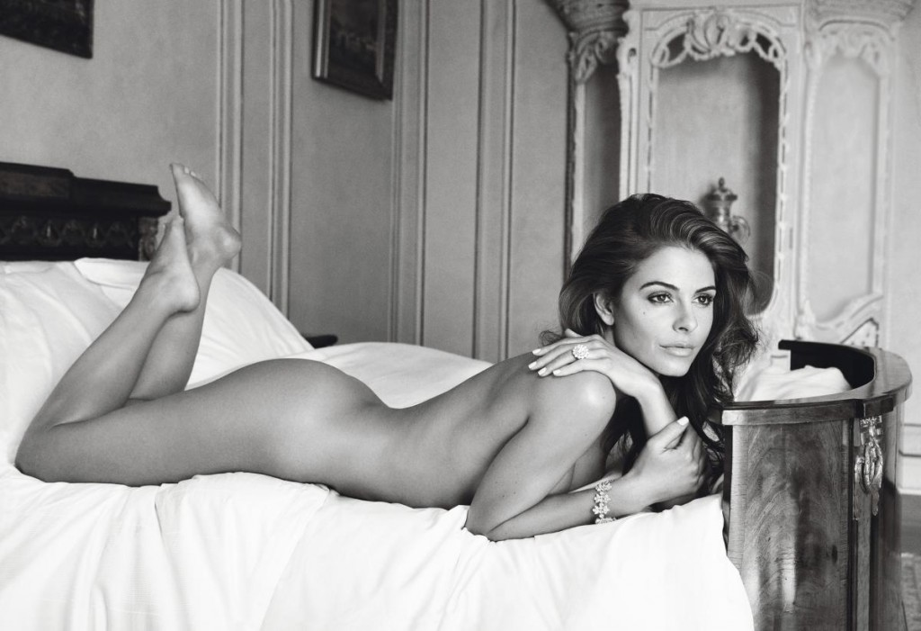 Une photo de Maria Menounos nue