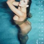 Les photos de Clara Morgane nue dans son calendrier 2016