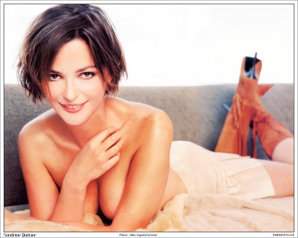 Toutes les photos de Sandrine Quétier nue