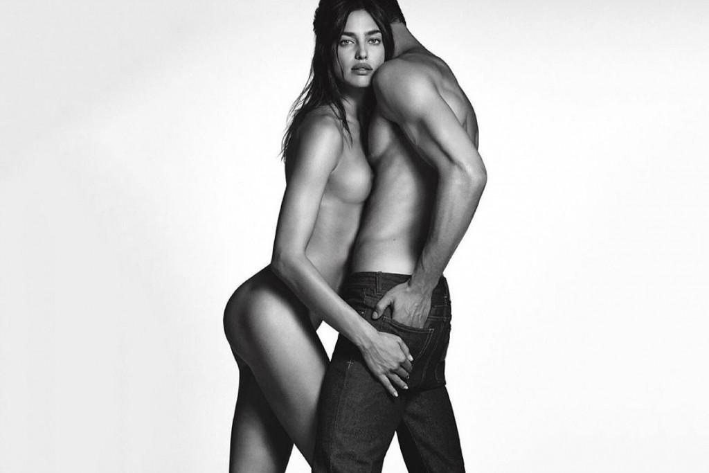 Des photos d'Irina Shayk seins nus