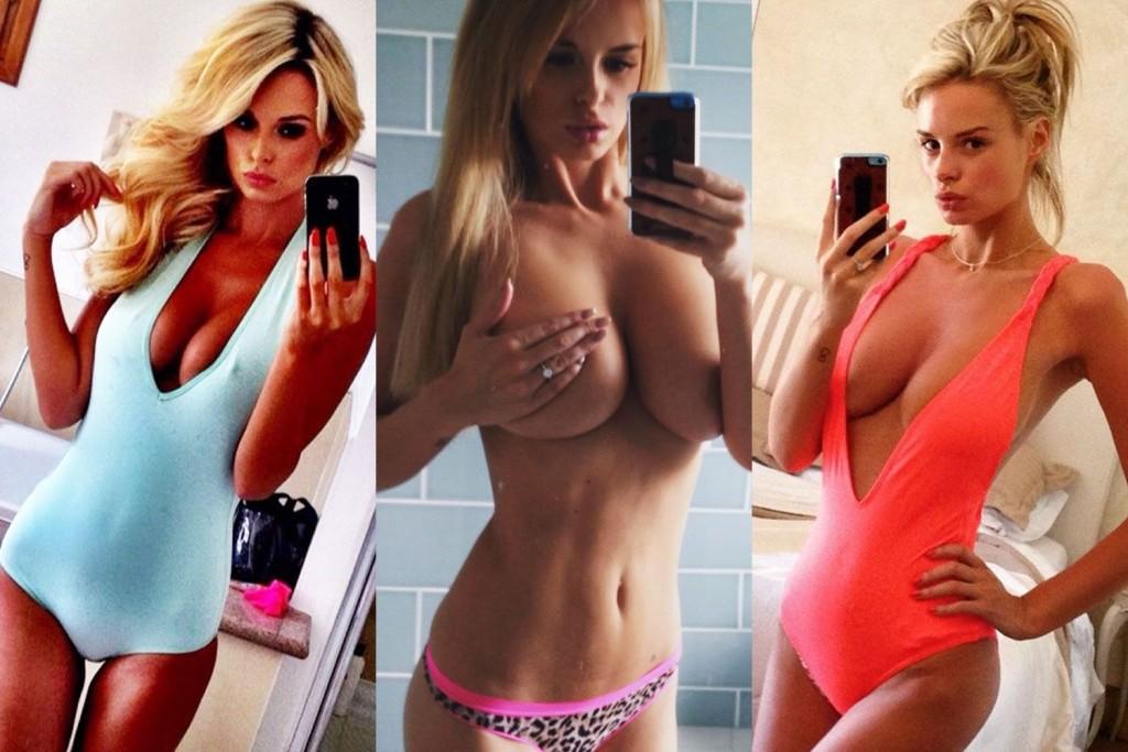 Les selfie de Rhian Sugden nue