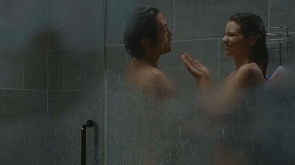 Lauren Cohan nue dans The Walking Dead