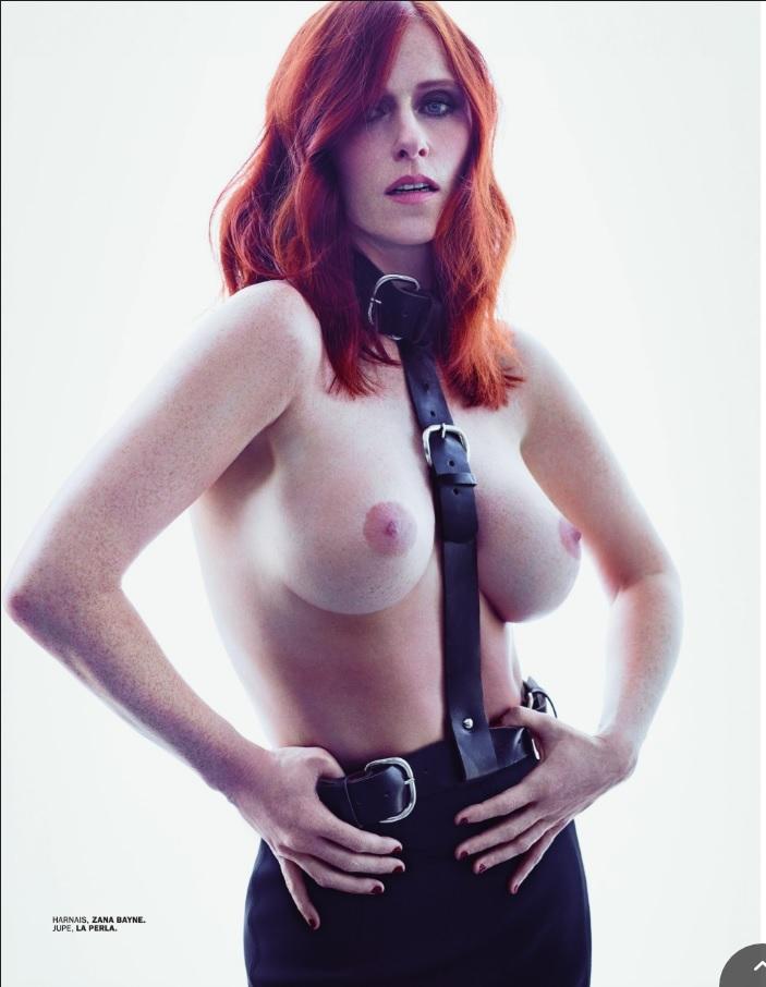 De nouvelles photos de Audrey Fleurot nue et seins nus