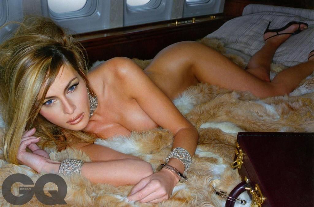 Toutes les photos de Melania Trump nue et seins nus