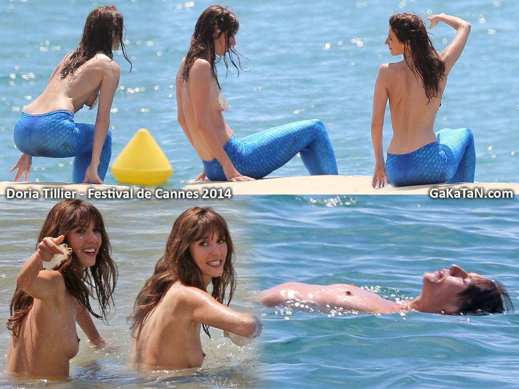 Toutes les photos de Doria Tillier nue et seins nus