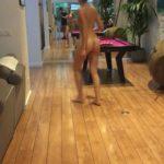 Une vidéo volée de Elodie Fontan toute nue